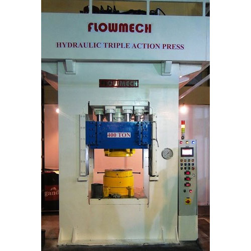 Hydraulic Tripple Action Press (4 Pillar Type)